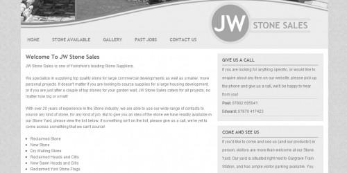 JW Stone Sales